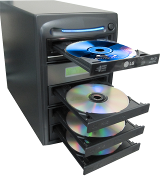 Bluray duplicator